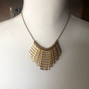 Jewelry - Gold Colored Statement Necklace